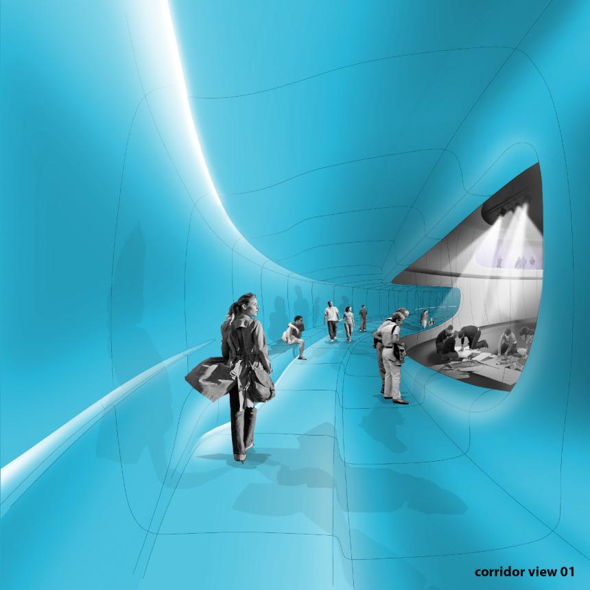 corridor - view 1