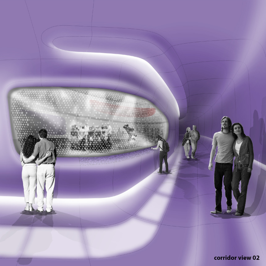 corridor - view 2
